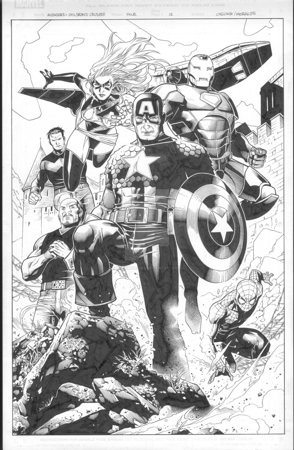 Avengers: Children's Crusade 4 pg 12 by MarkMorales