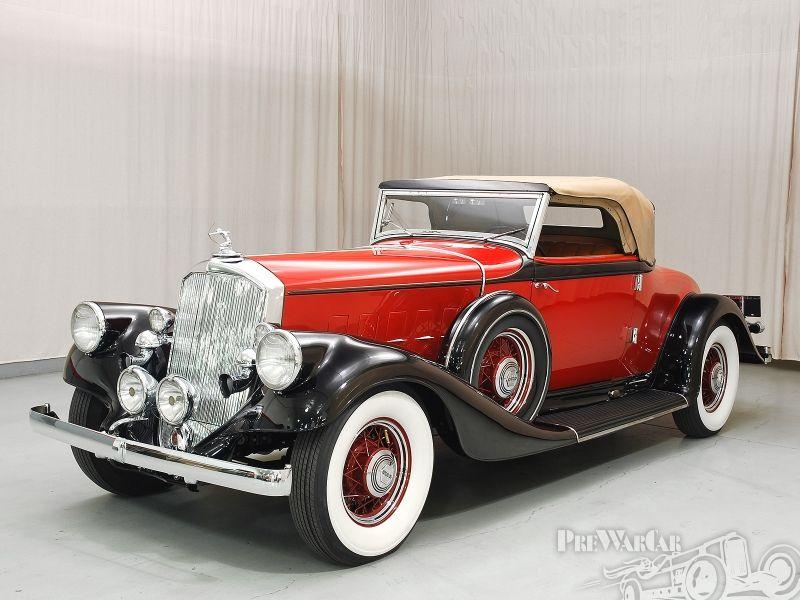 Pierce-Arrow 12 Conv. coupe 1933 for sale | Antiques & Classics ...