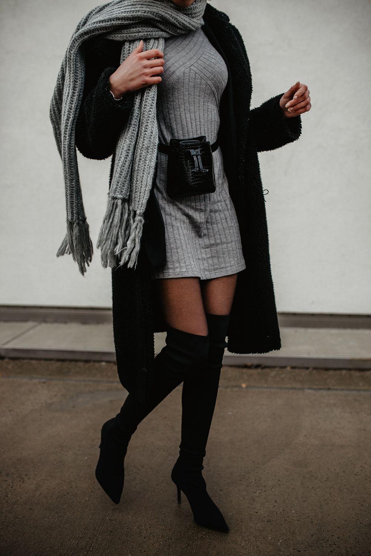 Photo of Overknees antrekkinspirasjon: Hvordan style sorte overkneestøvler!