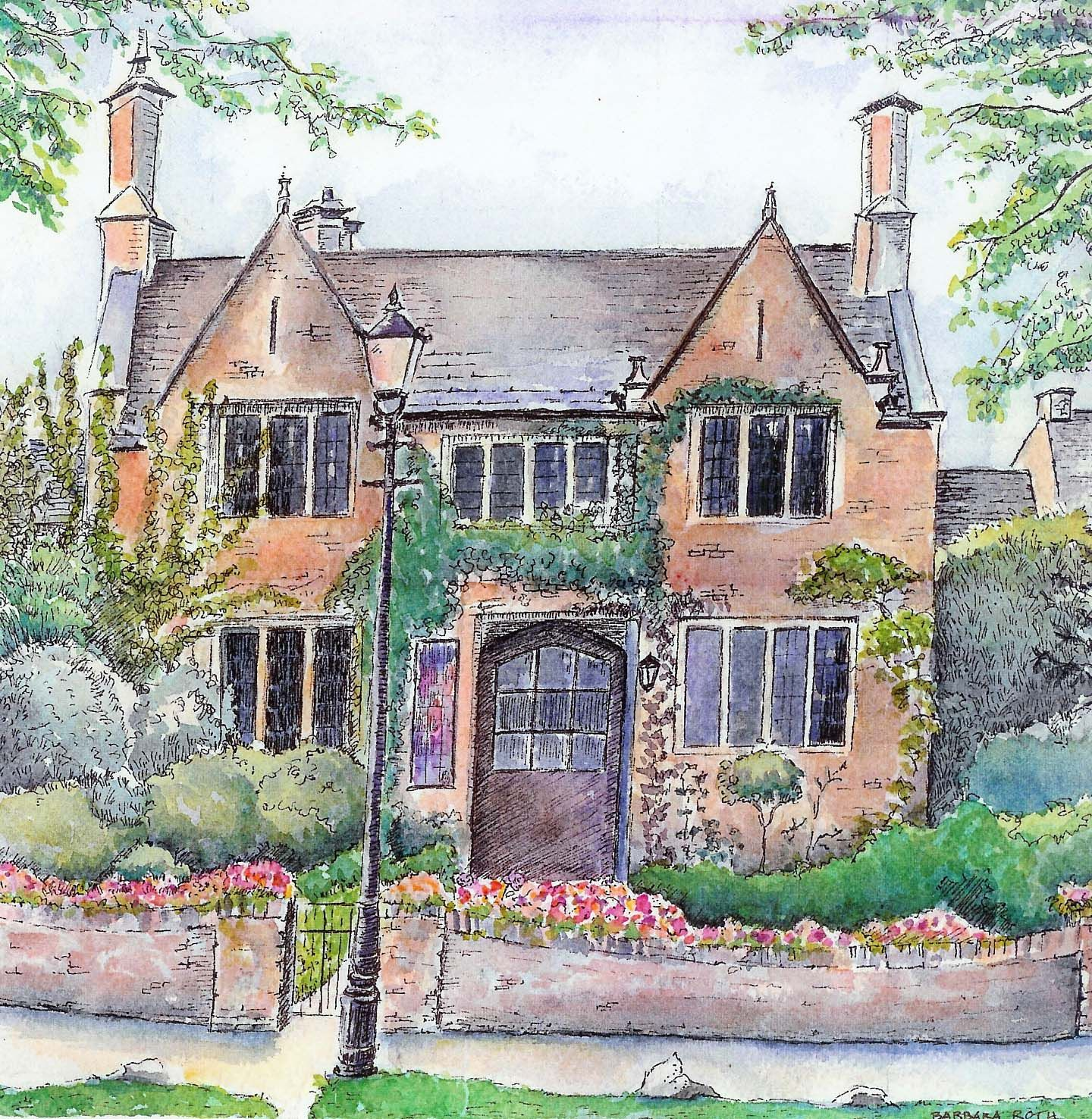 English Cottage Village: ... Studio Ruminations: What Do You