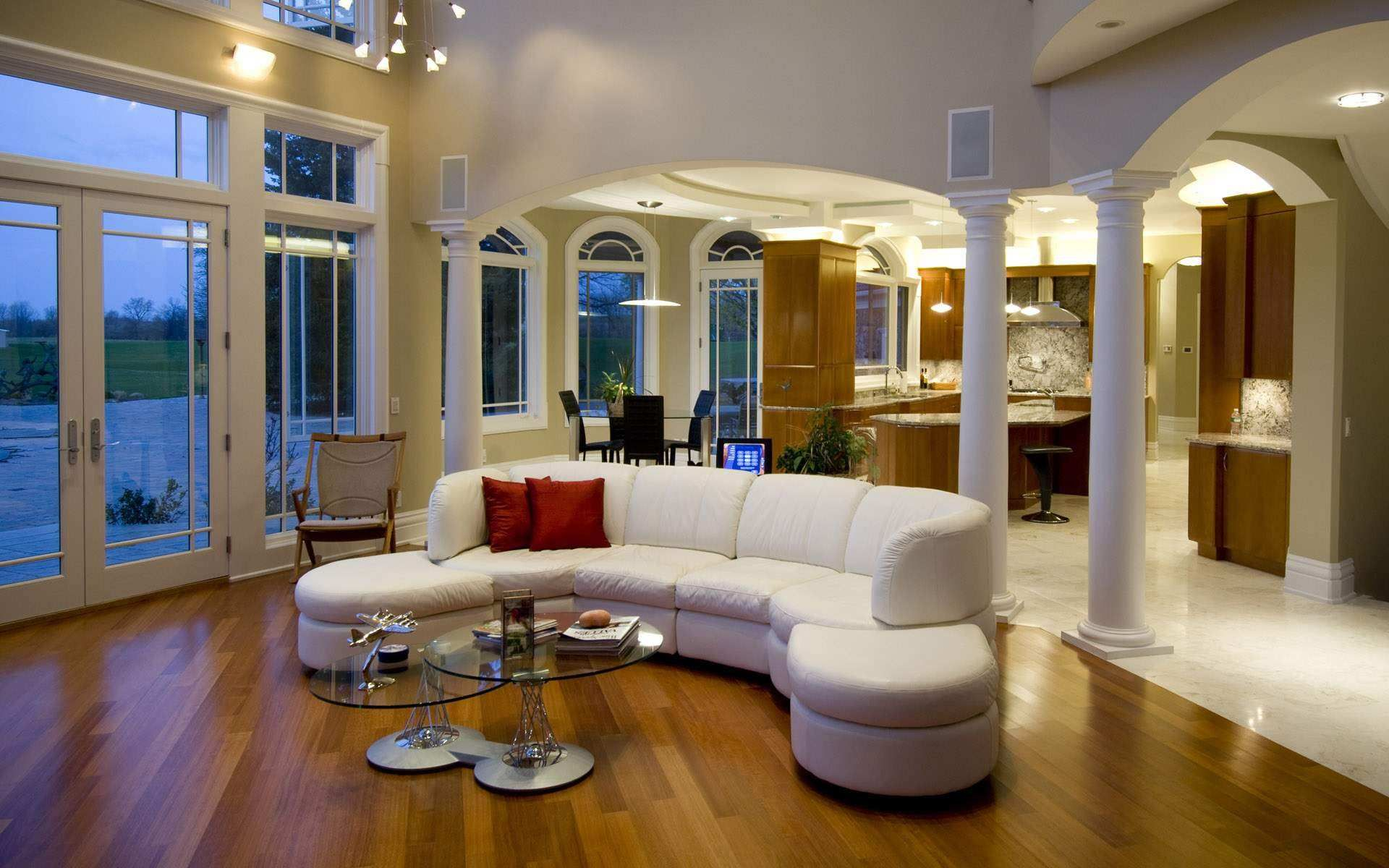 Luxus Wohnzimmer Galerie Pics   Loungemöbel