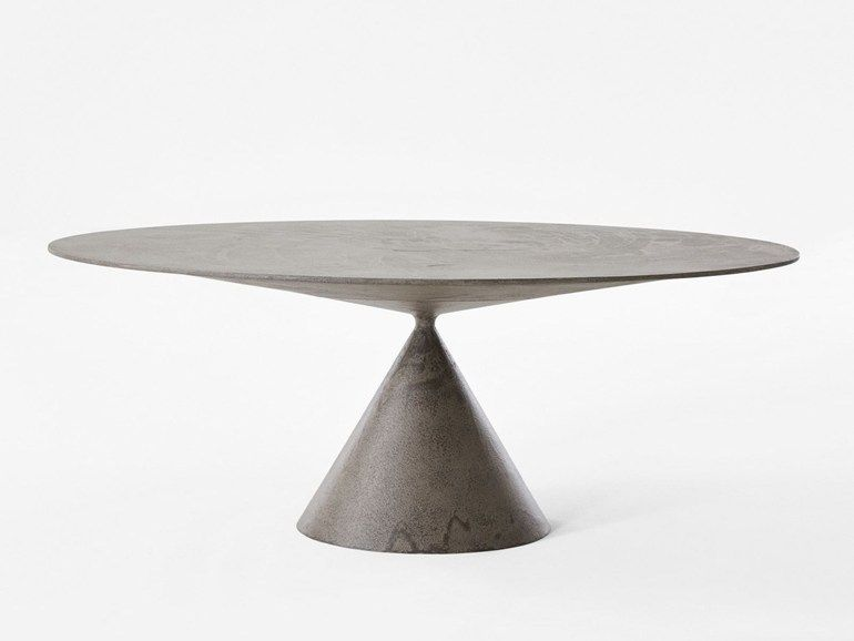 Tavolo Ovale Design : Clay tavolo ovale by desalto design marc krusin tables