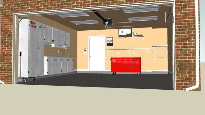 2 Car Garage Car Garage Garage Garage Door Opener