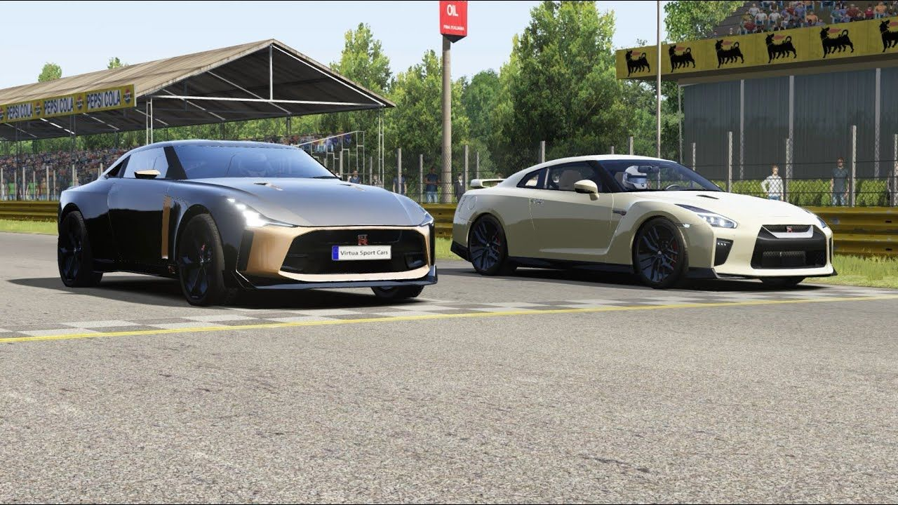 Nissan Gt R50 2019 Italdesign Vs Nissan Gt R 2017 At Monza Full Course Nissan Gt Nissan Gt R Gtr