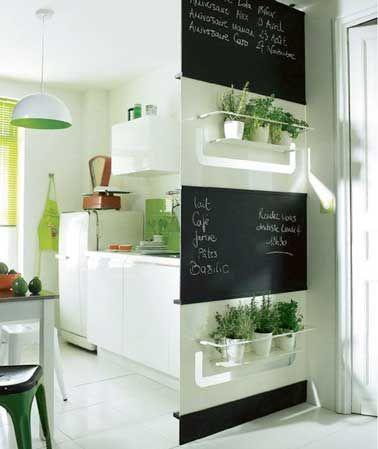 astuces d co pour optimiser une petite cuisine cuisines kitchens pinterest petite. Black Bedroom Furniture Sets. Home Design Ideas
