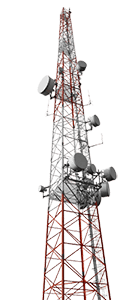 Telecommunication Gsm Towers Radio And Tv Transmission Towers And Aviation Obstruction Lights Applications Https Www Wetra Transmission Tower Tower Lights
