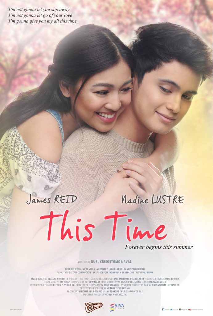 James Reid And Nadine Lustre Brings Kilig This Summer Via The Feel Good Movie This Time New Movies In Theaters Full Movies Free Jadine