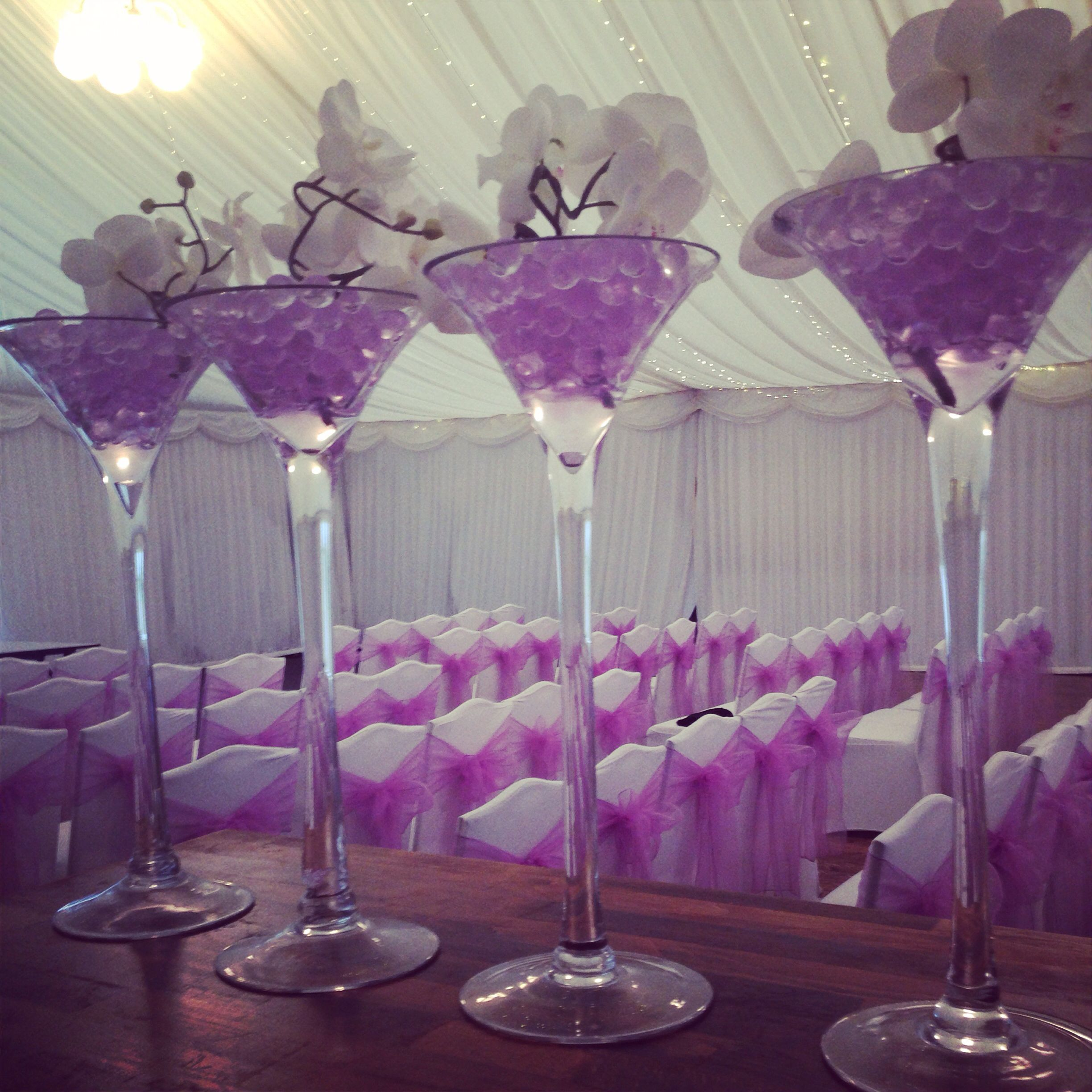 wedding chair covers lilac dxracer gaming india centrepieces by lily special events www