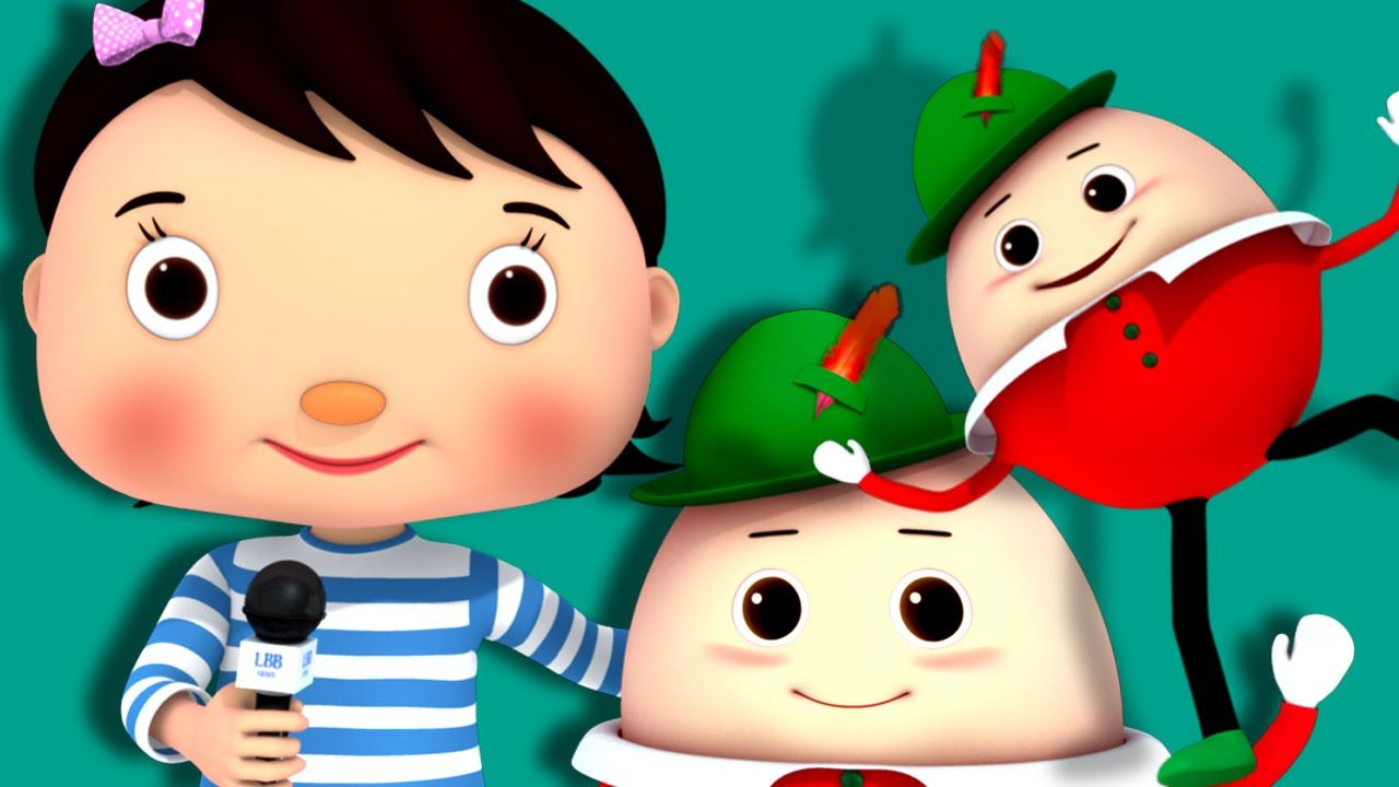 Humpty Dumpty Part 2 Nursery Rhymes By Littlebabybum Baby