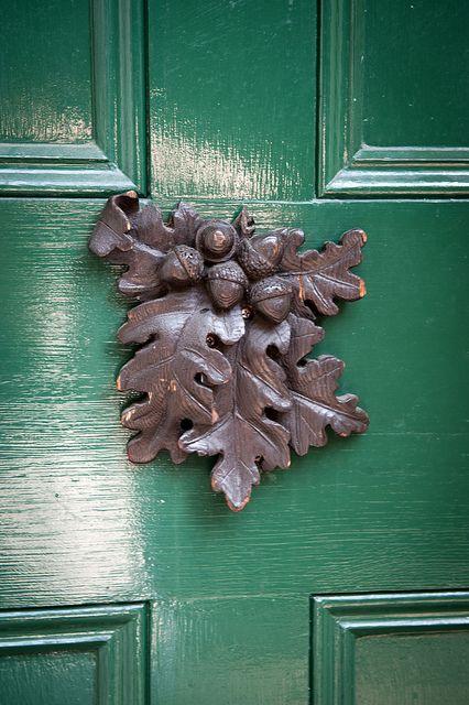 Acorn And Oak Leaves Coses Que M Agraden Door Knobs