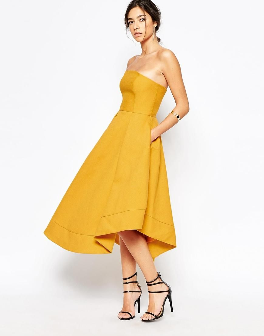 C/meo Collective | C/meo Collective Making Waves Strapless Dress in ...