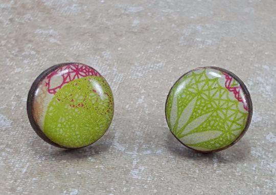 Small Poppy Drop Earrings