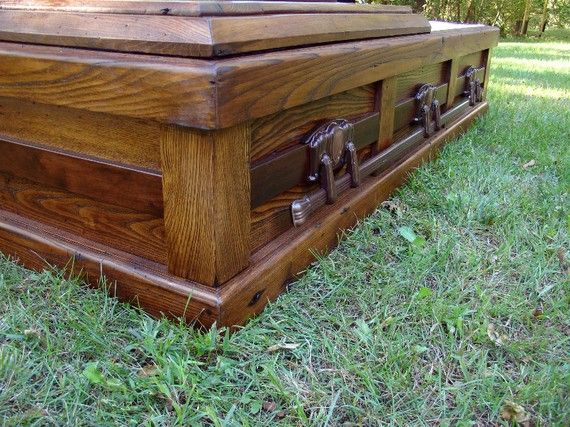 Image result for simple wood casket