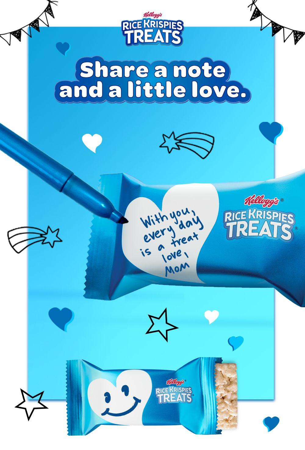 Kellogg S Rice Krispies Treats In 2020 Rice Krispie Treats Rice Krispies Cool Toys For Girls