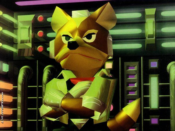 Fox Mccloud Star Fox 64 Star Fox 64 Pinterest Star Fox Star