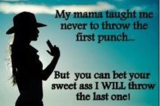 Momma taught me
