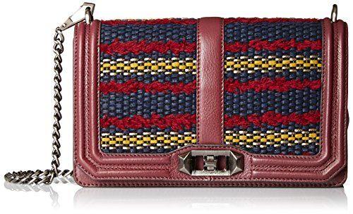 REBECCA MINKOFF Rebecca Minkoff Love Crossbody Shoulder Bag. #rebeccaminkoff #bags #shoulder bags #leather #lining #crossbody #cotton