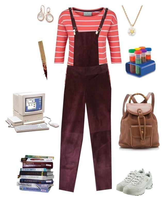 """Willow Rosenberg-Buffy the Vampire Slayer"" by conquistadorofsorts ❤ liked on Polyvore featuring New House Textiles, Brakeburn, Etrala London, Skechers, Ippolita, Kate Spade and Gucci"