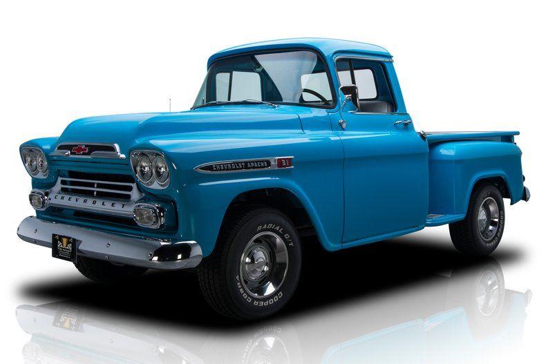 For Sale 1959 Chevrolet Apache Chevrolet Apache Vintage Trucks