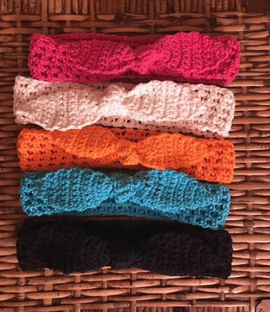 A personal favorite from my Etsy shop https://www.etsy.com/listing/517813787/spring-and-summer-crocheted-headbands