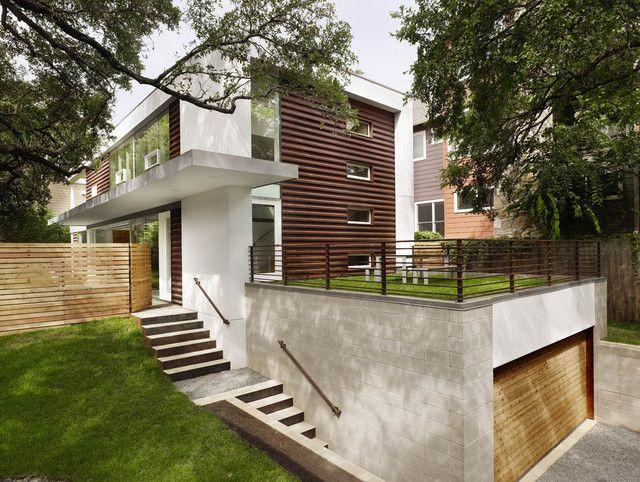 Garage Marvelous Modern Minimalist Houses With Underground Garages