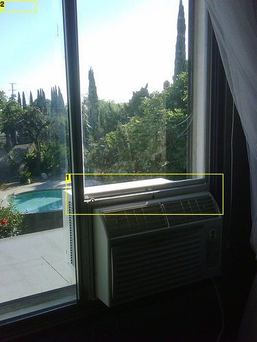 Installing A C Unit Inside Of A Horizontally Sliding Window Ac Window Installation Window Unit Installation Horizontal Sliding Windows