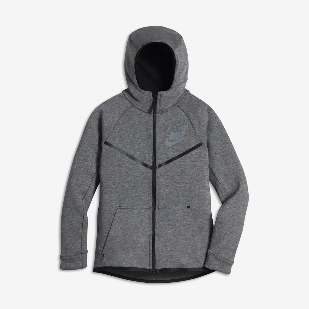 Nike Sportswear Tech Fleece Windrunner Big Kids' (Boys