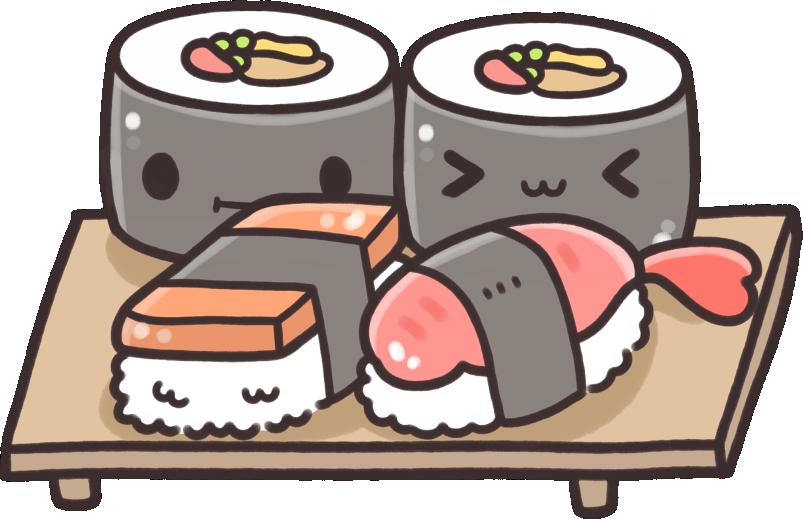 Cool Website Goodies Cartoon Object Cute Kawaii Drawings Sushi
