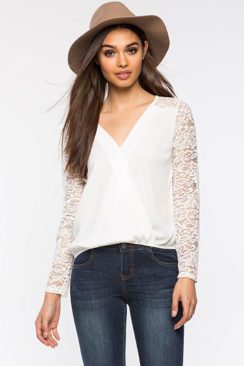 Кружевная блуза Размеры: S, M, L Цвет: кремовый, горчичный, винный/бордо Цена: 1285 руб.     #одежда #женщинам #блузы #коопт