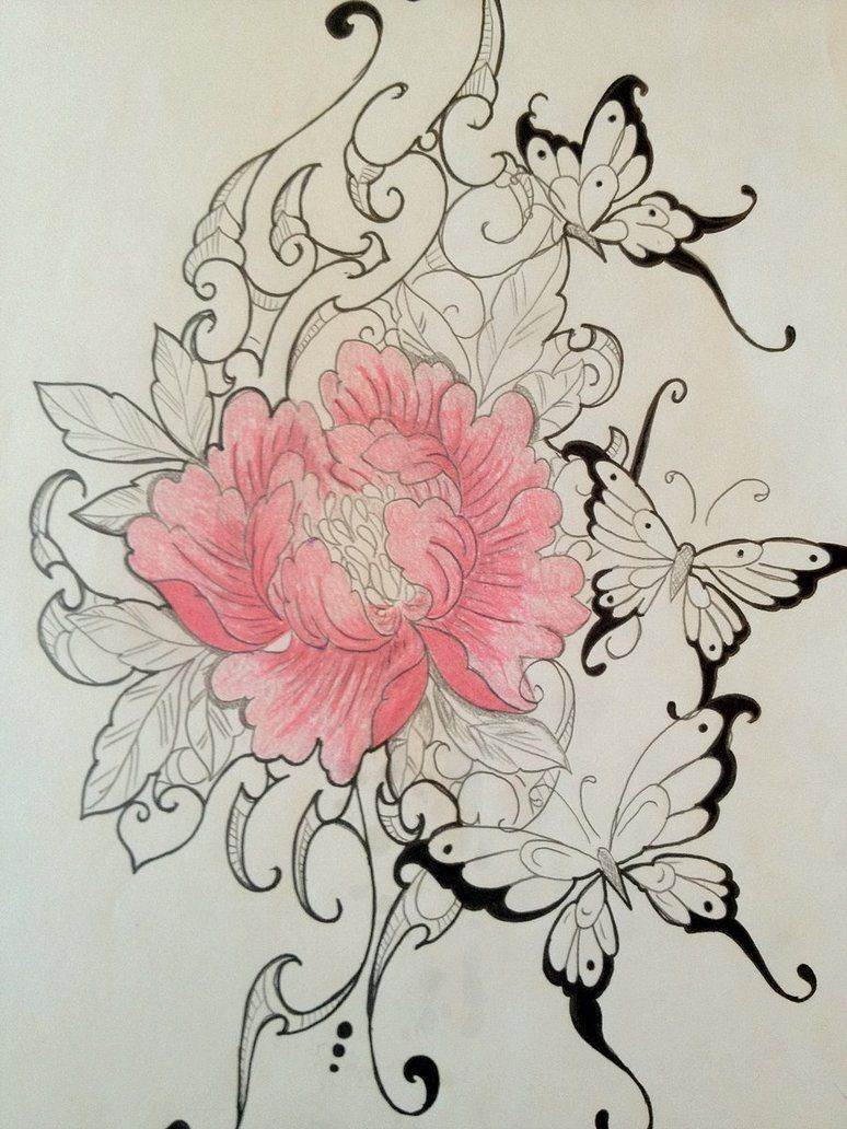 Pretty Flower Tattoo Cool Things Pinterest Pretty Flower