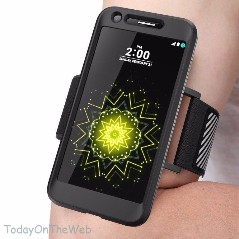 LG G5 SUPCASE Easy Fitting Sport Running Armband with