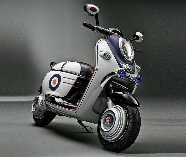 Mini E Scooter Concept From BMW