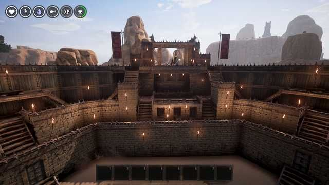 Battle Arena Build In Conan Exiles Probably Playing