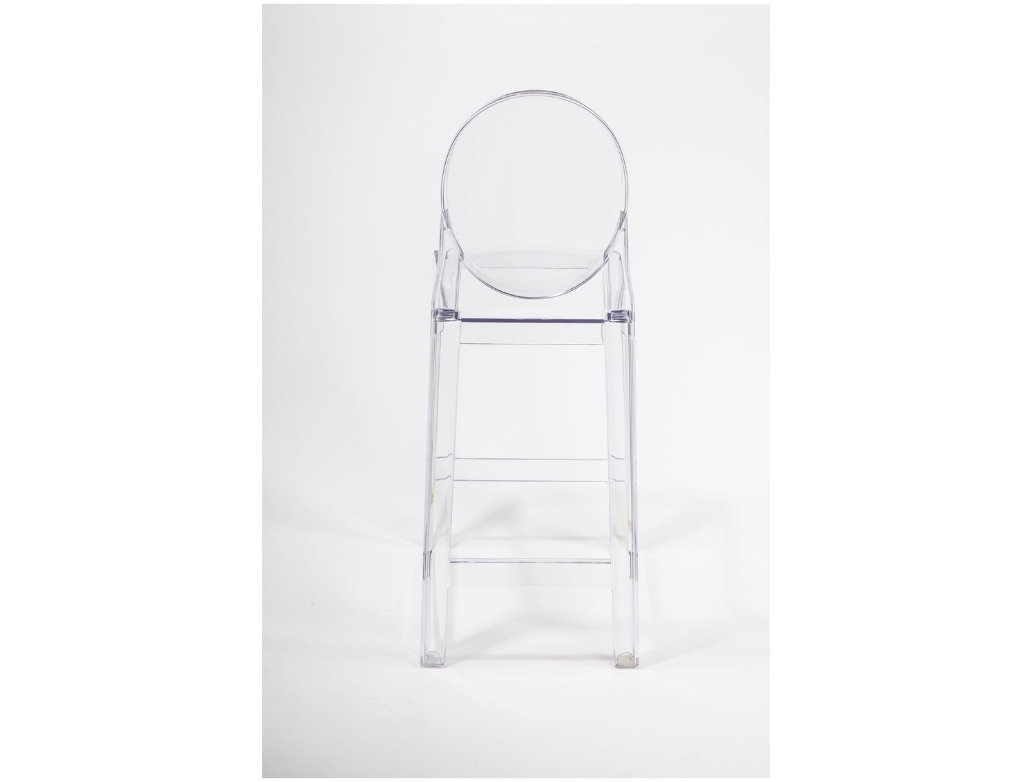 Stilnovo ghost clear counter stool fd201clear bar and counter stools pinterest counter - Ghost bar stools counter height ...