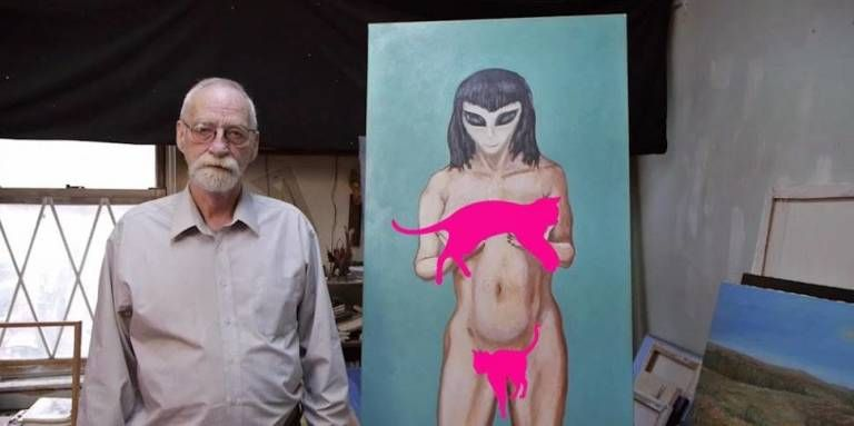 See the Aliens This Man Claims Took His Virginity (NSFW) -Cosmopolitan.com