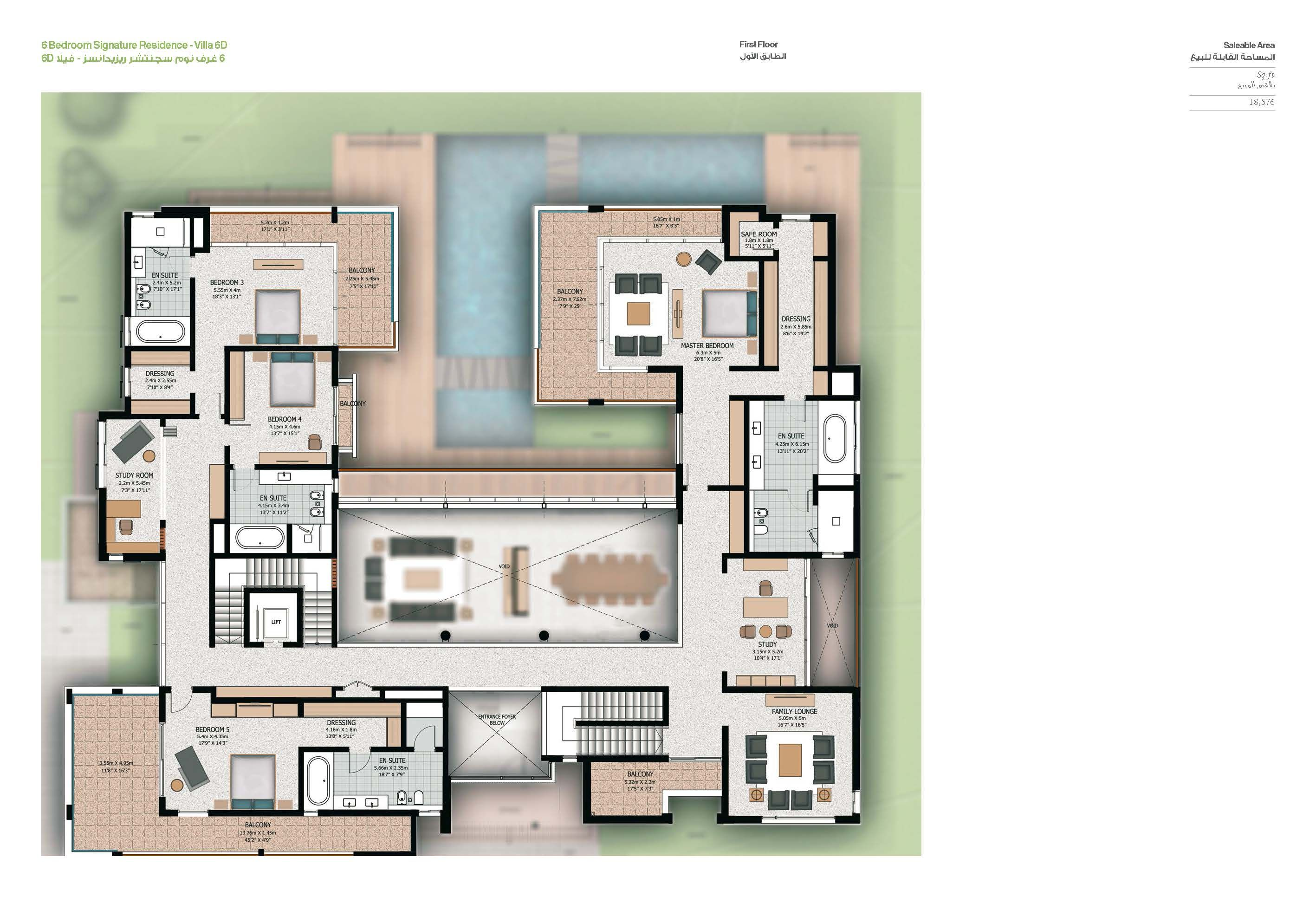 Sobha Hartland Villas Op House Layout Plans House Plans House Layouts