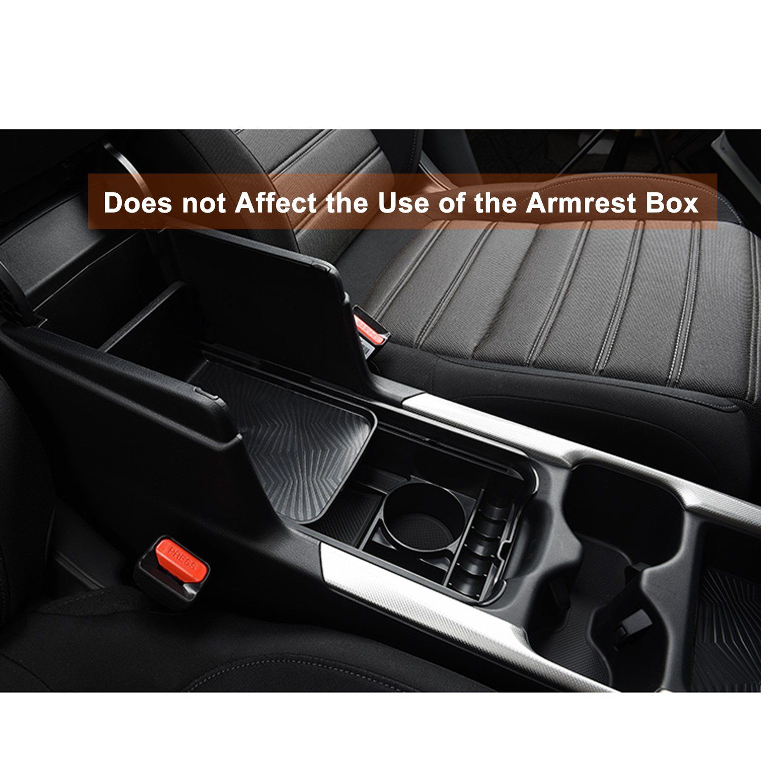 Autou Car Center Console Organizer Storage Box Tray for Honda CRV 2017 2018 Accessories