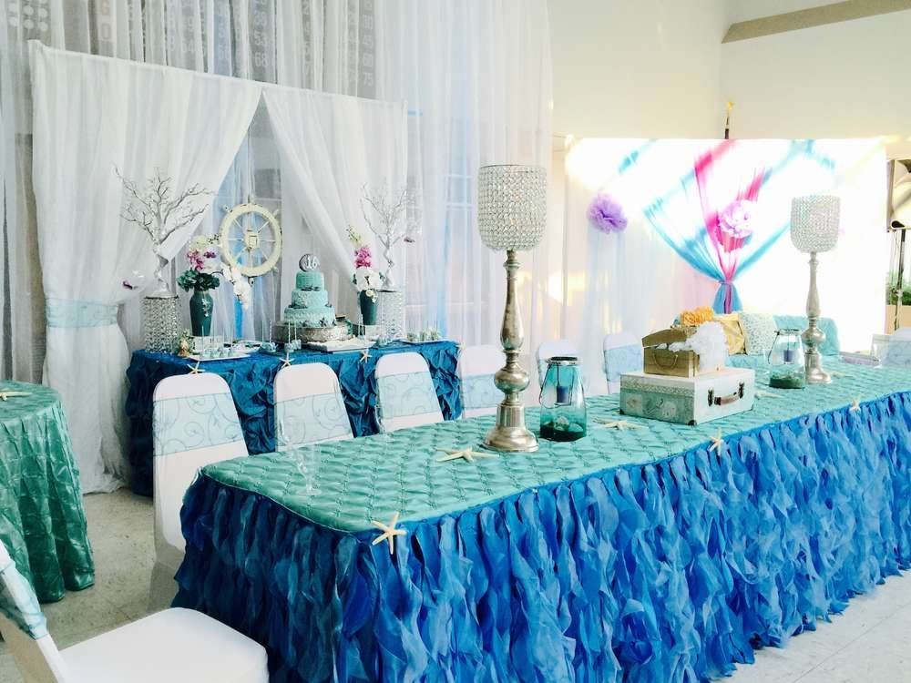 Under The Sea Quinceanera Party Ideas With Images Quinceanera