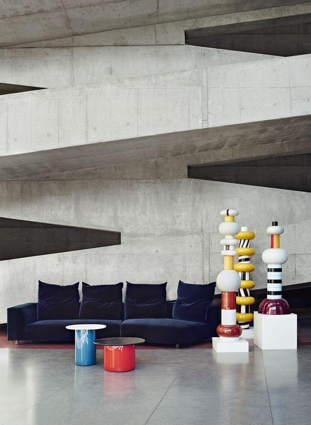 le design italien en 8 decors exceptionnels le brutalisme litalienne - Table Design Italienne