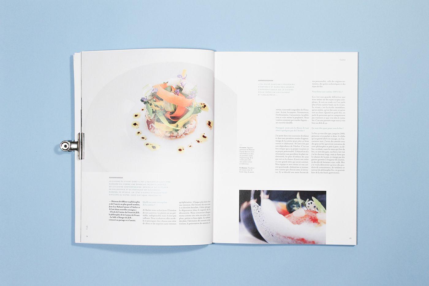 l'ode magazine - diptyque on Behance
