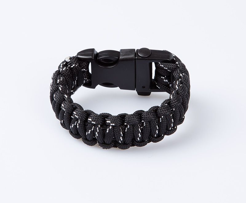 The Black Whistle Bracelet From T Level Made Nylon Perfect