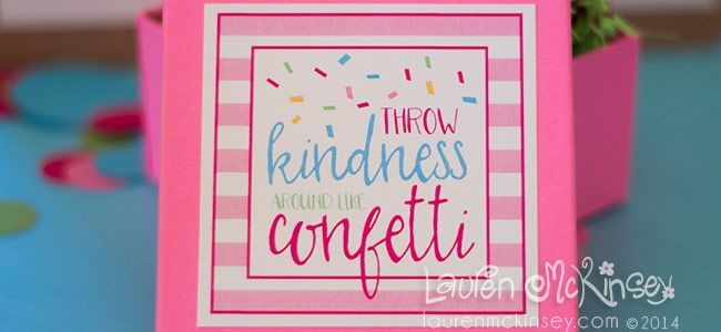 LaurenMcKinsey.com is available at DomainMarket.com #throwkindnessaroundlikeconfetti throw kindness around like confetti | Product Categories | Lauren McKinsey Printables #throwkindnessaroundlikeconfetti