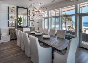 Dining Room Modern Coastal Dining Room With Tongue And Groove