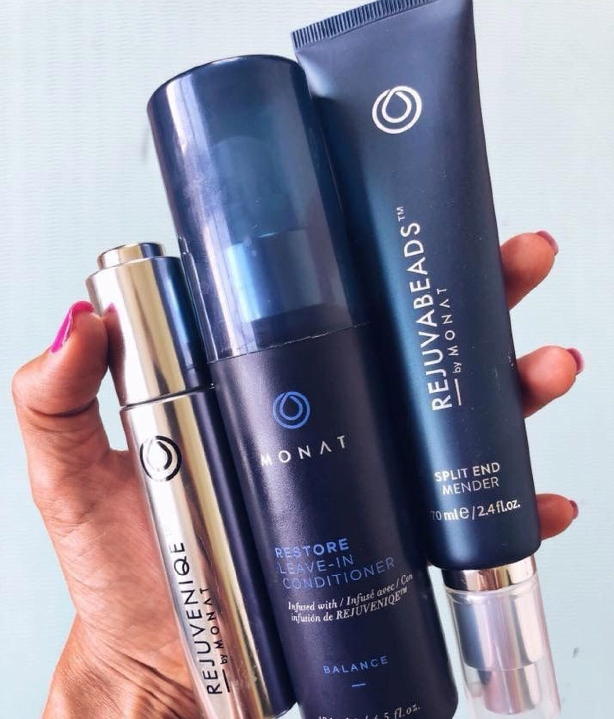 Give your hair some hydration Monat, Help hair loss