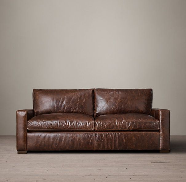 6 39 The Petite Maxwell Leather Sofa 72 Leather Sofa