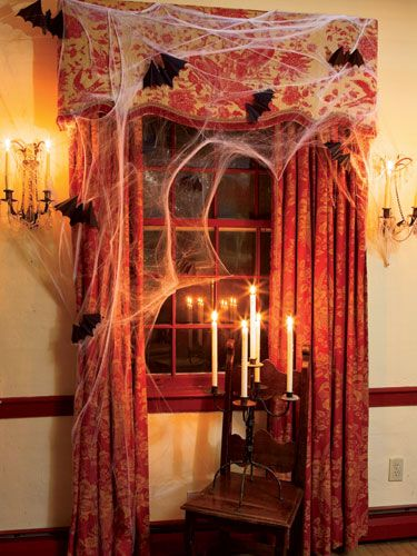 60+ Enchanting Halloween Decorating Ideas Candelabra, Wicked and Bats - halloween decorations com
