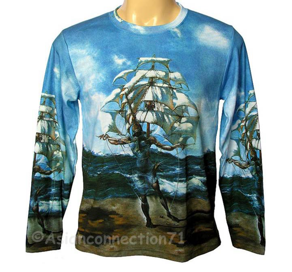 T-shirts inspired by some of the most famous paintings of