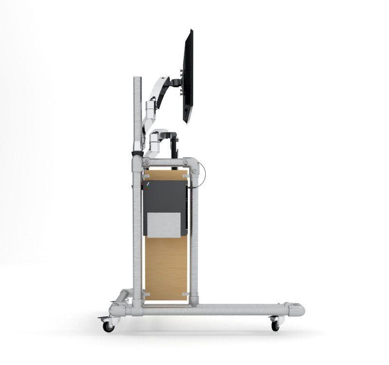 Ergonomischer bürotisch  Ergonomischer PC Tisch zum selber bauen | criar | Pinterest | PC