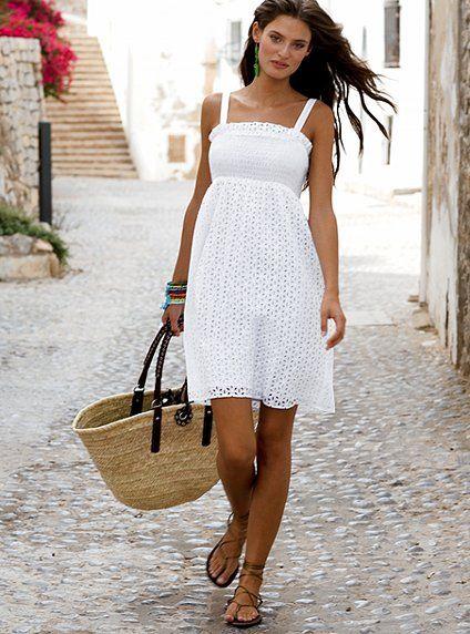 78  images about Summer sundress on Pinterest  Floral beach ...