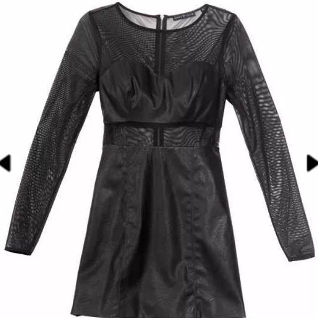 Nwot Guess Tiesto Nyt Collection Dress Sz 0